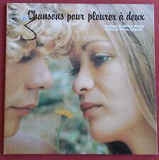 CHANSONS POUR PLEURER A DEUX  LP ORIG FR  MICHEL MAGNE  PIERRE DELANOE