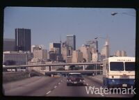 1972 35mm Photo slide  Dallas TX freeway  Frito Lay truck