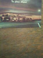 TRI CITIES AIRPORT  VINTAGE POST CARD PASCO WASHINGTON