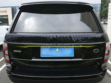 Black Rear Door Tailgate Trunk Molding Trim Cover For Range Rover Vogue L405