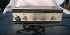 Vintage XAM Stereo Amplifier.