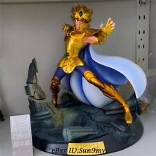 Saint Seiya Aioria Statue Figure Model Painted 1/6 Led Anime With Artbox New