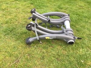 Saris Bones 3 Bike Car Rack Carrier Boot Hatchback/Saloon Grey - No Straps