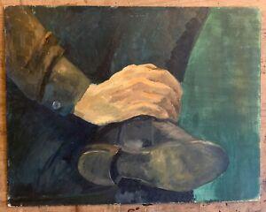 Marika Eversfield (1914-2014) - 20th Century Oil,  study of boot