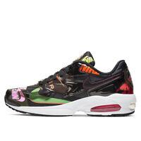 New Atmos x Nike Air Max 2 Light QS Athletic Shoes Sneakers - Black(CI5590-001)