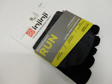 Injinji Run Lightweight No Show Black M