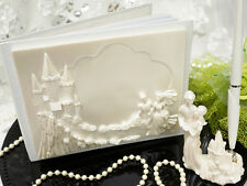 Cinderella & Prince Fairy Tale Wedding Guest Book & Pen Set Princess NIB Castle