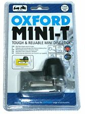 Oxford Mini-T Disc Lock OF48 Mini T Chrome