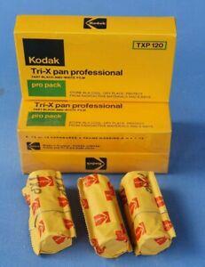 1 Expired Kodak TXP 120 Tri-X Pan Professional Negative Film Expiry 1978 Sealed