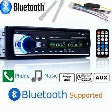 Bluetooth Car Autoradio 1 DIN MP3/USB/SD/AUX-IN FM Radio Player NEU WF