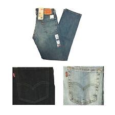 Levi's Men's 513 Slim Straight Stretch Denim Blue Jeans
