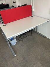 More details for large white office desk