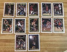 1992-93 Topps Gold Basketball Card Lot of 12 Green Price Drexler  McHale Webb