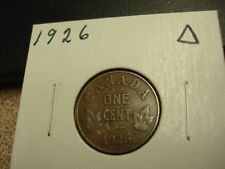 1926 - Canada 1 cent - Canadian penny - circulated