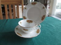 SHELLEY (LATE FOLEY) TRIO CABINET CUP &  SAUCER & PLATE