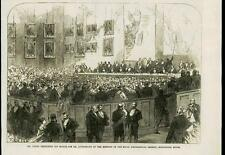 1868 - LONDON BURLINGTON HOUSE ROYAL GEOGRAPHICAL SOCIETY DR LIVINGSTONE (127)