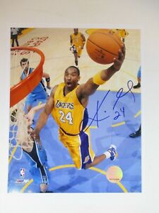 "HAND SIGNED by KOBE BRYANT 8x10"" NBA Photo LA LAKERS #24 Basketball Authentic"