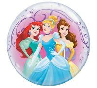 Disney Princess Stretchy Birthday Bubble Foil Balloon 22""