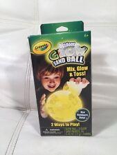 NEW Crayola Glow Sand Ball