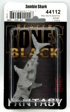 Reaper 44112 Zombie Shark (Bones Black) Undead Fish Sea Monster Miniature