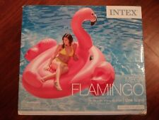 Intex 57288EP Mega Flamingo Island Ride Pool Float Open Box