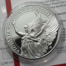 1 Pound - St. Helena 2021 - The Queens Virtues - Victory in Proof - 1 oz Ag