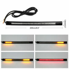 48LED Car Stop Turn Signal Light Flexible SMD Brake Strip Tail Motorcycle IP68