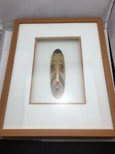 Hand Carved Wood Wall Masks Framed
