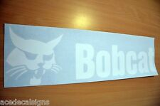 Bobcat Decal for rear of Skidsteer