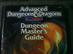 Dungeon Master's Guide: Advanced Dungeon and Dragons 2nd Edition Hardcover...