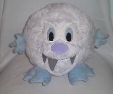 "Disney World Parks 10x10"" Plush Yeti Abominable Snowman White Lg Ball Everest"