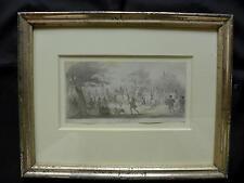JOHANN MAAR; 1815 NÜRNBERG MÜNCHEN; BURGGRAFEN-ZUG FALKNER PRINZESSINNEN;UM 1860