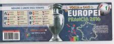FRANCIA 2016 - EUROPEI DI CALCIO - CALENDARIO TASCABILE - VOGLIA DI CALCIO 47PG