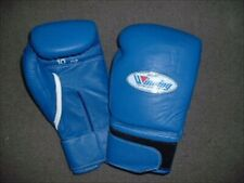 MS-300-B Boxing Gloves Winning Pro type 10oz Blue Cowhide for Bag and Mitt Japan