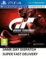 Gran Turismo Sport PS4 - MINT - Same Day Dispatch* 1st Class Super FAST Delivery