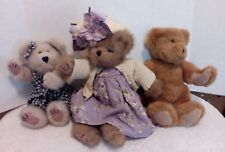 Boyd Collection 3 Bears 1 Bean Series, 1 Archive Series & 1Bearington Collection