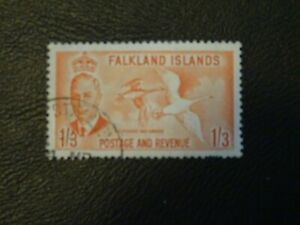 Falkland Islands Stamp SG 181 FU issued 2-1-1952 King George VI (Kelp Geese).