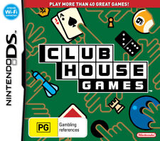 Club House Games DS Game USED