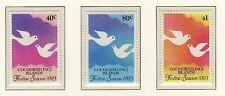 10358) COCOS ISLANS 1993 Scott # 286/88   3v. MNH** Doves - Festive Season