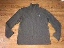The North Face Men's Gray Fleece Sweatshirt Medium