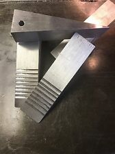 "2!!   1.5"" X 1.5"" aluminum wedge With Grip Notches (firefighter forcible entry)"