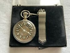 Westclox Vintage Mechanical Wind Up Pocket Watch