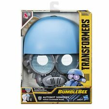 Transformers: Bumblebee AUTOBOT SQWEEKS VOICE CHANGER MASK Playset Toy Hasbro