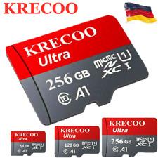 Heiße KRECOO 256 GB Speicherkarte 108MB/S 4K Class10 Flash TF-Karte mit Adapter