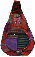 Cotton Bohemian / Hippie Back Bags from India - 5 pcs lot