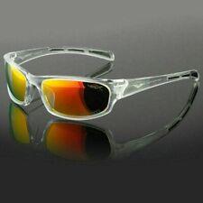 Polarized Mens Wrap Around Fashion Sunglasses Fishing Golf Running Sport Glasses