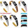 Fitbit 3 Ersatz Bands klassische Echtleder Armband Armband Bänder