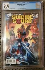 New Suicide Squad #1 DC Comics September 2014 Graded 9.4 by CGC
