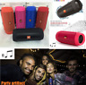 Splashproof Charge 2 + Portable Wireless Bluetooth Stereo Speaker Party Outdoor