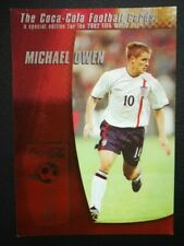 2002 World Cup - Coca-Cola (Thailand Ed) - Michael Owen (England) Trading Card